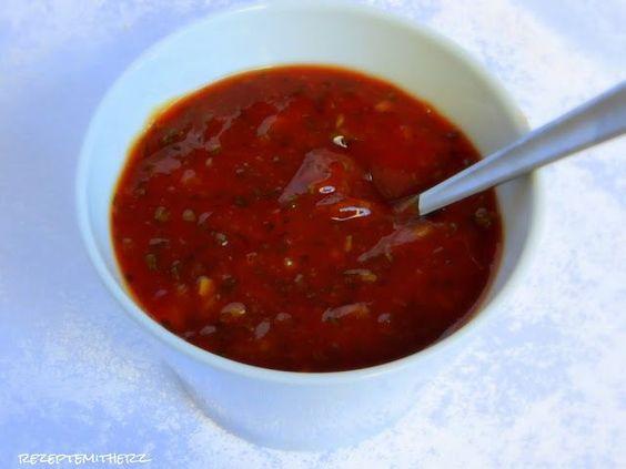 rezepte mit herz scharfe honig sauce zu raclette fondue und viel rezepte fondue. Black Bedroom Furniture Sets. Home Design Ideas