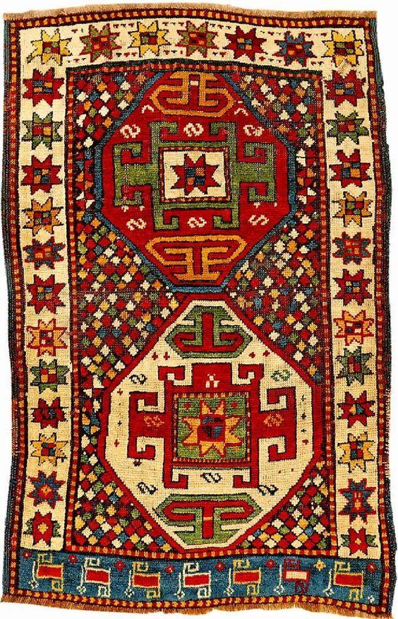 Kazak Shahsavan Rug Published By Eberhart Herrmann Caucasus Northwest Persia Shahsavan Tribes 19th Century Wool Rugs On Carpet Rugs Antique Oriental Rugs