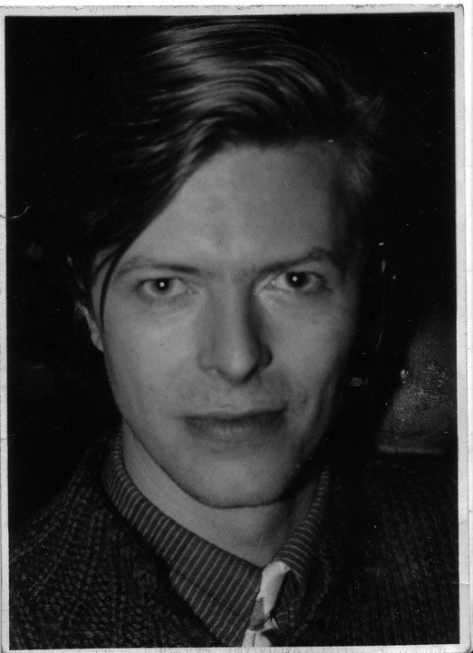 Original Fine Art Photograph by Allen Brand: David Bowie 1980.