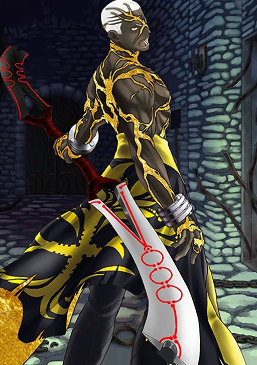 Archer Fate Grand Order Emiya Alter Black Anime Characters