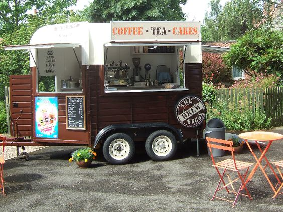 Horse trailer conversion - food truck