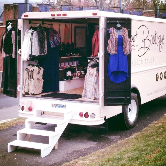 street boutique find fashion trucks mobile boutiques trailers campers and more on www. Black Bedroom Furniture Sets. Home Design Ideas