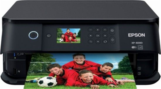 Epson Expression Premium Xp 6000 Wireless All In One Printer Front Zoom Cool Things To Buy Epson Printer