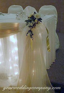 bridal party decoration