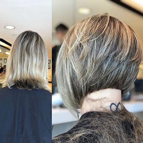 2019 Bob Haircut And Hairstyle Ideas Graduated Bob Haircuts Short Layered Haircuts Bob Hairstyles