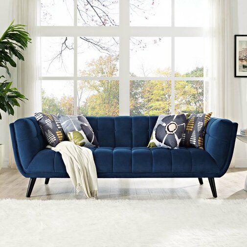 Find Decorating Difficult When You Have Kids At Home You Re Probably Worrying To Keep The House Clean Blue Sofas Living Room Blue Living Room Blue Sofa Living