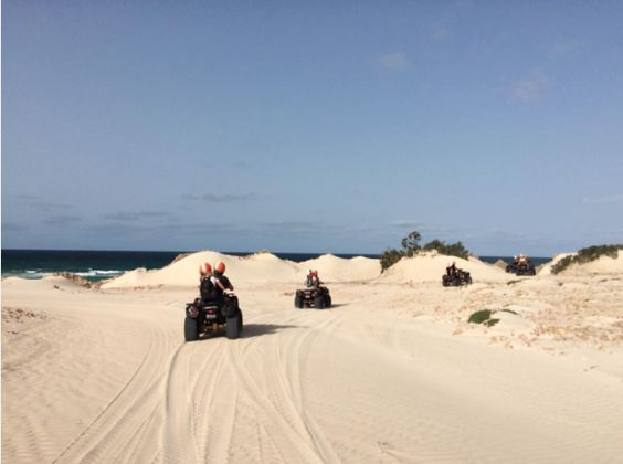 Quad riding on Boa Vista #CaboVerde #Kaapverdie