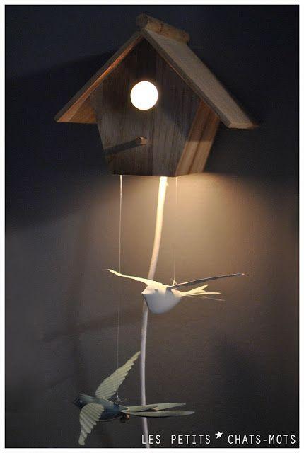 DIY Veilleuse-nichoir à oiseaux pour des rêves plus que beaux