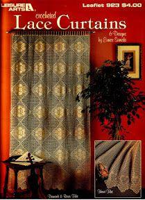 Crocheted Lace Curtains - diamondinapril - Picasa ウェブ アルバム