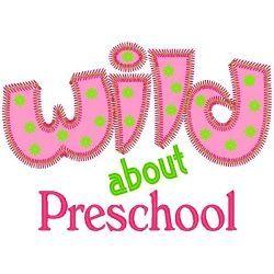 machine embroidery preschool | Wild About Preschool Applique - 3 Sizes! | Mega Hoop Designs | Machine ...