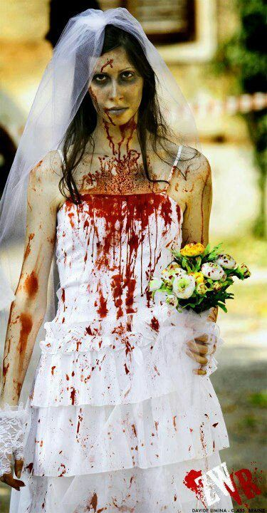 OK who can do better than this for the BTB on a #Halloween #Hendo ? zombie bride from didi-hime.deviantart.com