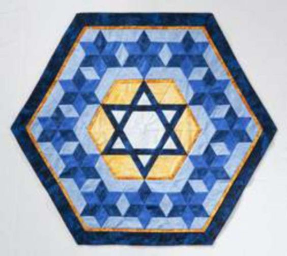 Star of David. Quilt from Oh My Stars! by Marci Baker For the Home quilts Pinterest Quilt ...