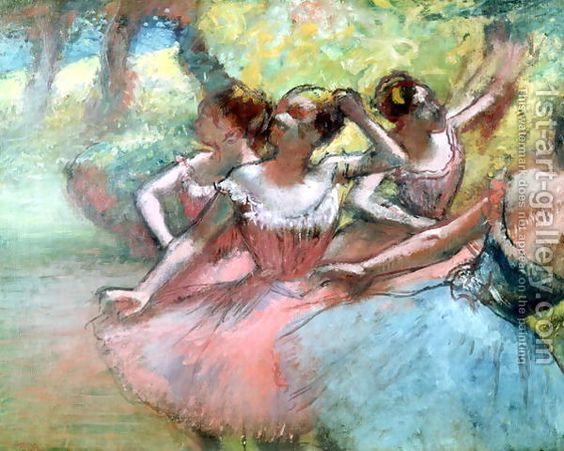 Edgar Degas and his ballerinas.:
