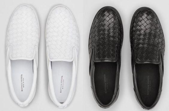 Bottega Veneta Introduces Intrecciato Nappa Slip-On Sneakers For Women