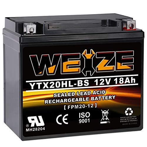 Weize Ytx20hl Bs Battery High Performance Maintenance Free