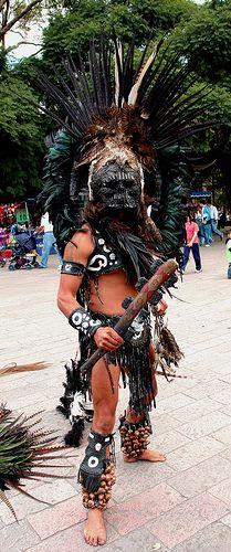 Aztec Warrior Black Death