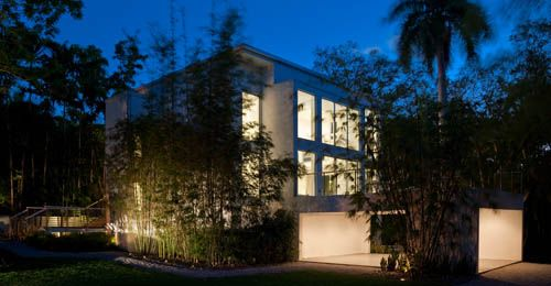 Miami Residence in Florida by Max Strang Architecture.