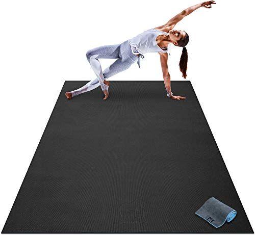 New Premium Large Yoga Mat 7 X 5 X 8mm Extra Thick Ultra