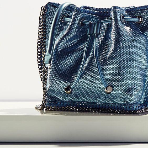 Stella McCartney bucket bag. #Handbag: Bags Sunglasses Accessories, Exceptional Handbags, Handbags Purses, Fabulous Handbags, Bag Clutch Purse, Handbags Clutches, Shoes Handbags, Chic Handbags, Bags Accessories