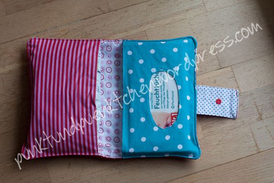 Diaper pouch (DIY)