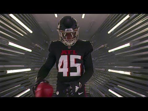 All Black New Falcons Uniform Unveiled Home Uniform Youtube In 2020 Atlanta Falcons Wallpaper Falcons Atlanta Falcons