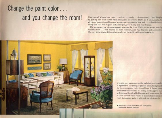17 groovy home interiors from 1965 - Retro Renovation