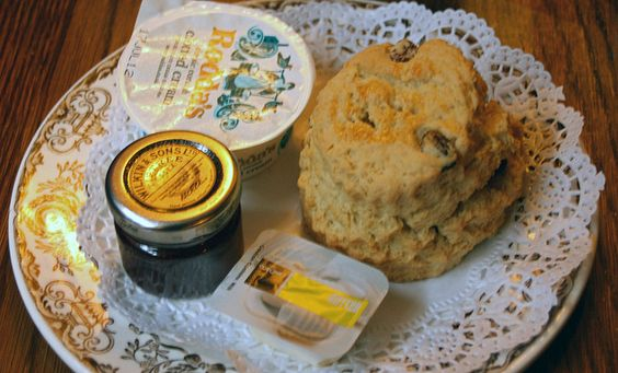 cornish cream tea cuisine anglaise british food