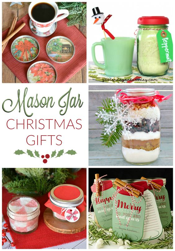 Mason jars make people merry all year long, but they're particularly popular during the holidays. They're perfect for gift giving, crafting, and storage. I bet you know someone special who'd love to receive these mason jar Christmas gifts this year!