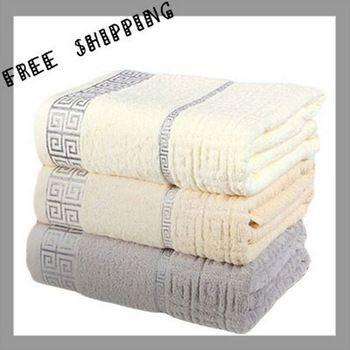 100% algodão novo 2013 absorvente toalhas de banho de algodão egípcio Terry toalhas de praia para no banho