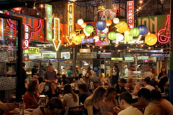 You have to try Newcastle's all you can eat restaurant Za Za Bazaar!