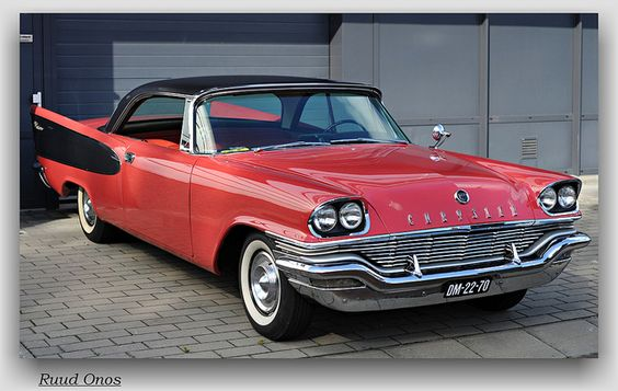 1957 chrysler windsor 2 door hardtop like going fast