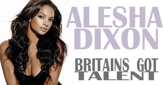 Alesha Dixon on Britains Got Talent 2012