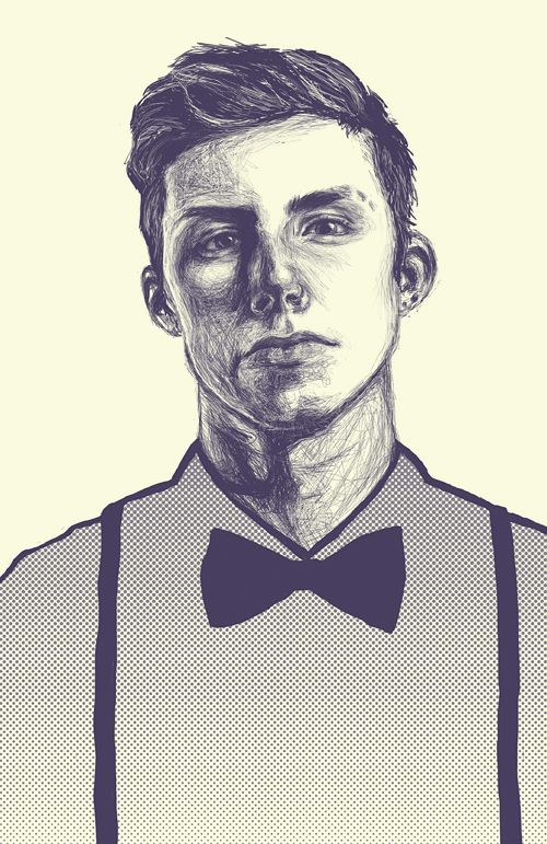 Boy Illustration Portrait