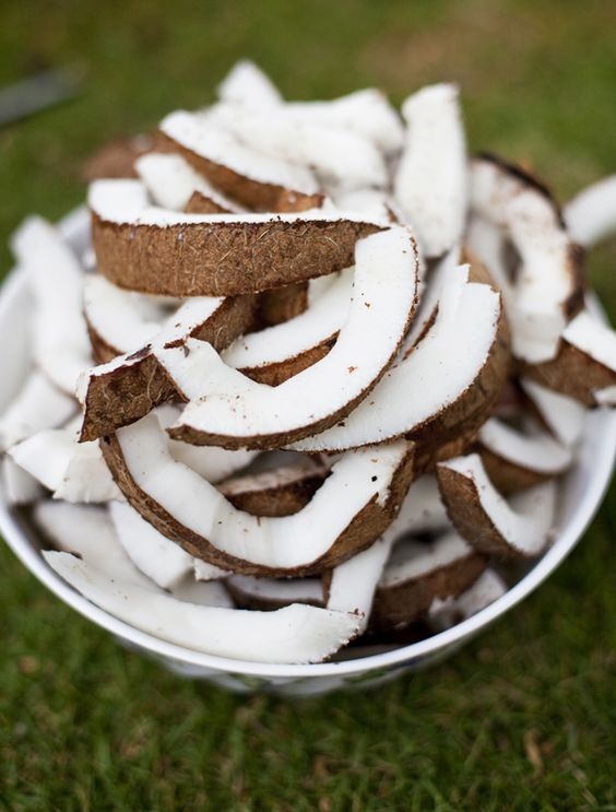 WOOD ROASTED COCONUT | Dessert for Grownups | Pinterest | Coconut ...