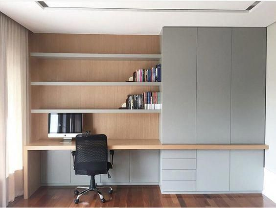 Unique Office Decor Home Office In Living Room Home Office Cupboard Designs 20190501 Home Office Cabinets Home Office Storage Home Office Decor