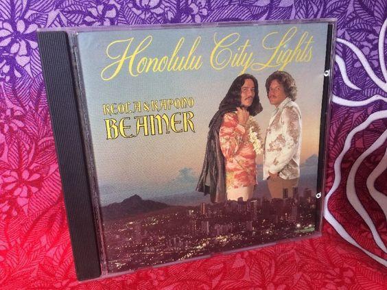 Honolulu City Lights Keola & Kapono Beamer CD, Feb-1993, Paradise Music Tested #HawaiiPacificIslands