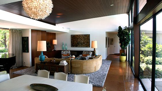 Frank Sinatra House | #PalmSprings I took a tour of this amazing property. Ring-a-ding ding ding!: