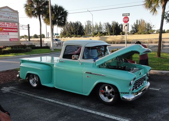 Location Car Cruise In The Plaza At Davie Fl 1956 Chevy Pick