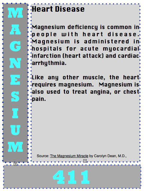 Back to Eden: Magnesium 411: Heart Disease