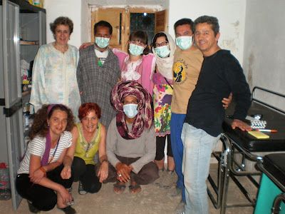 Nuestro equipazo médico + voluntarios de aG #cooperación #AccionGeoda