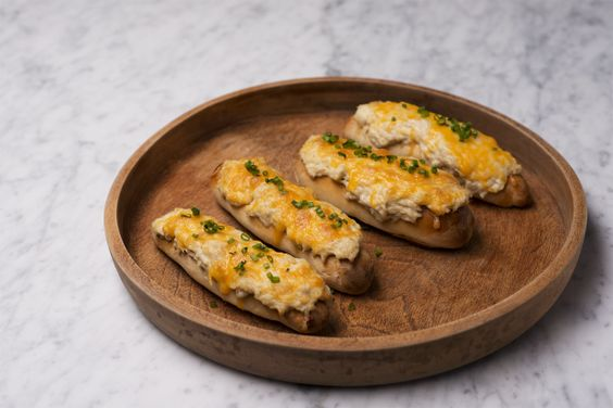 Try this recipe for slightly more manageable Baltimore crab pretzels in appetizer format. The crowd will thank you.