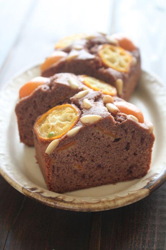 バター・白砂糖不使用♪金柑と松の実のケーキ by 神田 美紀   レシピサイト「Nadia   ナディア」プロの料理を無料で検索