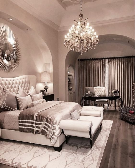 Pinterest Glamourouss Luxurious Bedrooms Champagne Bedroom Beautiful For Couples