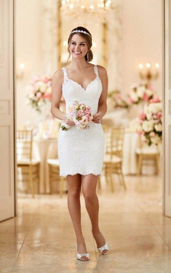 La plus belle robe courte! 👰 1
