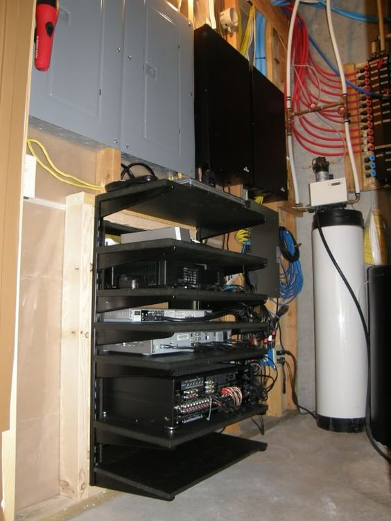 Diy A V Rack Page 5 Home Theater Build Pinterest