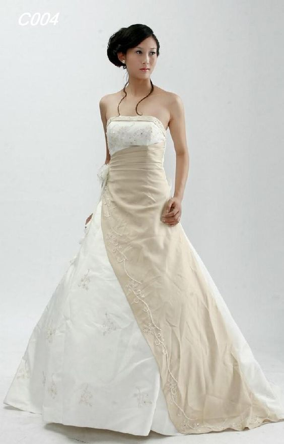 winsome Attractive  Bride Wedding Dress Ideas