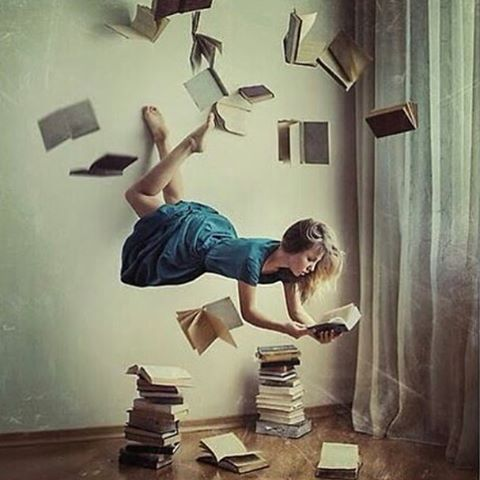 [Take Flight] Books are open doorways into other worlds and they contain a wealth of information that is right there at our fingertips at the library.