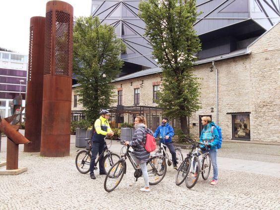 Fahrradtour in Tallinn, Estland