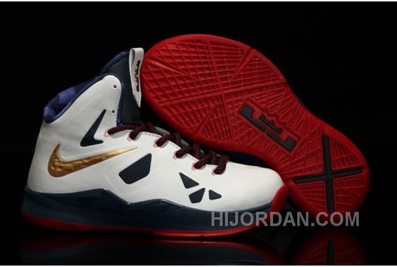 best sneakers 801ce d56e6 Hot 2015 Nike Lebron 10 Royal Blue Varsity Red Yellow