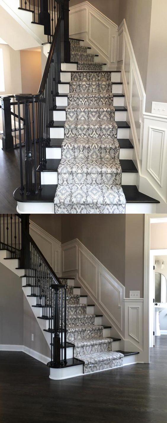 Best Stair Runners Dark Hardwood And Carpet Types On Pinterest 400 x 300